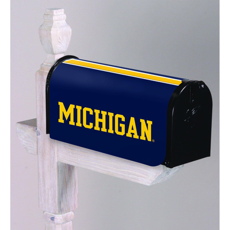 Team Sports America University of Michigan Applique Mailbox Cover