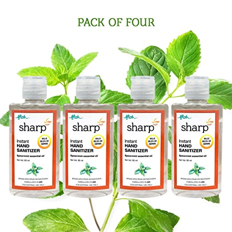 Buy Floh Sharp Hand Sanitizer With 70 Ipa And Vitamin E 60ml