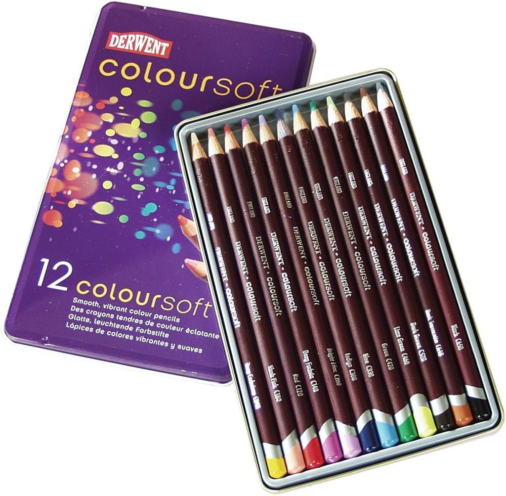 Review: Derwent Coloursoft Pencils