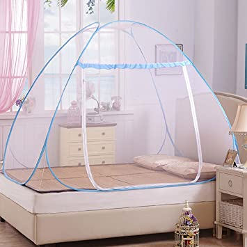Amazoncom Kail Blue Portable Folding Pop Up Mosquito Net Bed