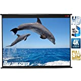 Elcor Map Type Projector Screen, 6 W x 4 H(in Imported HIGH GAIN Fabric A+++++ Grade) …