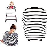 Kyapoo Nursing Breastfeeding Cover Multi Use Scarf Baby Car Seat Canopy Infinity Stretchy Shawl