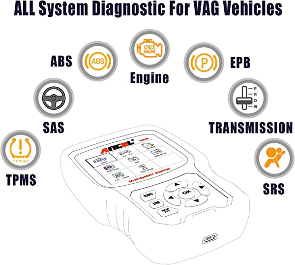 unlike Ancel VD500, VD700 in upgraded version brings far more diagnosis features