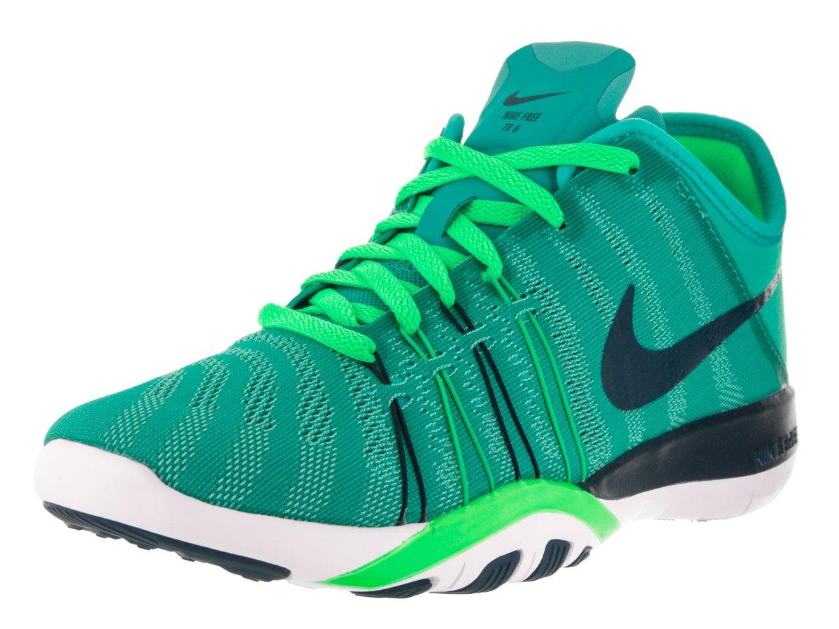 Womens Nike Free TR 6 Training Shoes B019HDJW40 7.5 B(M) US|Clear Jade/Midnight Turquoise/Green/White