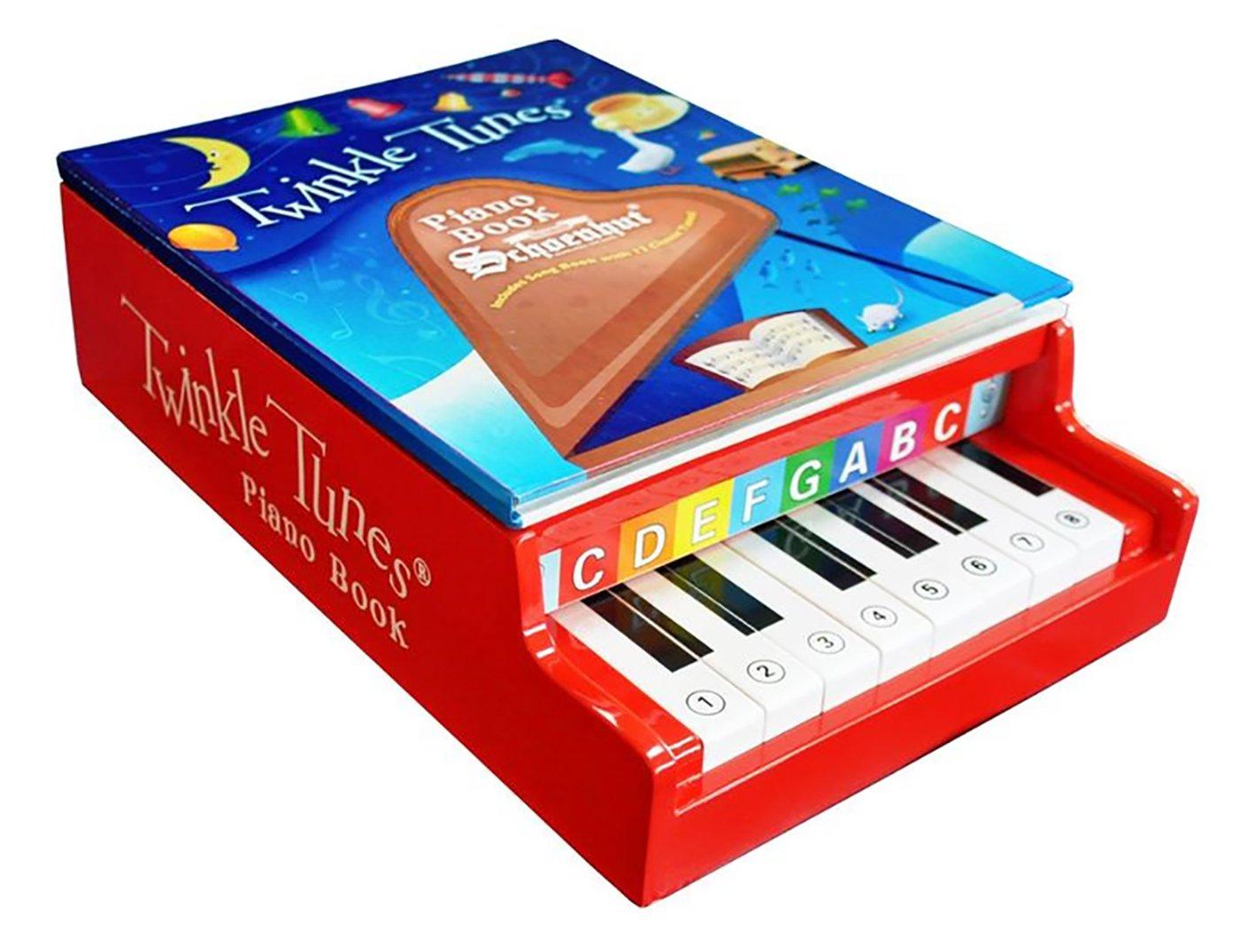 Schoenhut Twinkle Tunes Piano Book (Red) by Schoenhut (English Manual)