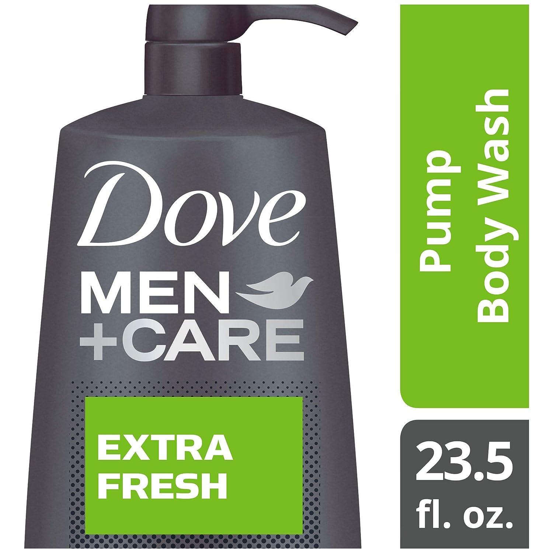 Dove Men+Care Body Wash, Extra Fresh 23.5 Fl Oz (Pack of 1)