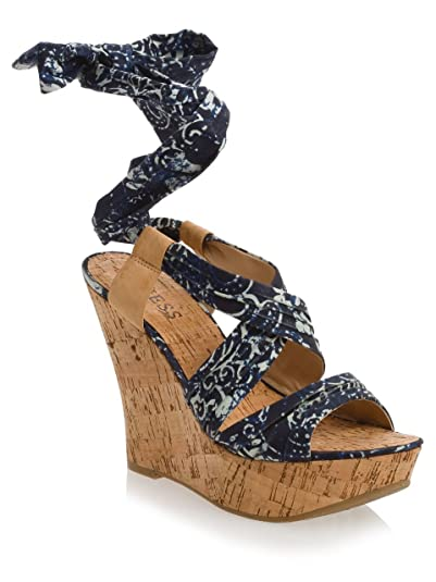 fc0186e1f7a Amazon.com | GUESS Women's Jingman Wedge | Platforms & Wedges