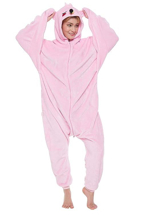4c4cf7bc4 Corimori Tiffany El Flamenco Pijamas Animal Traje De Una Pieza Disfraz  Adultos Invierno Color rosa claro