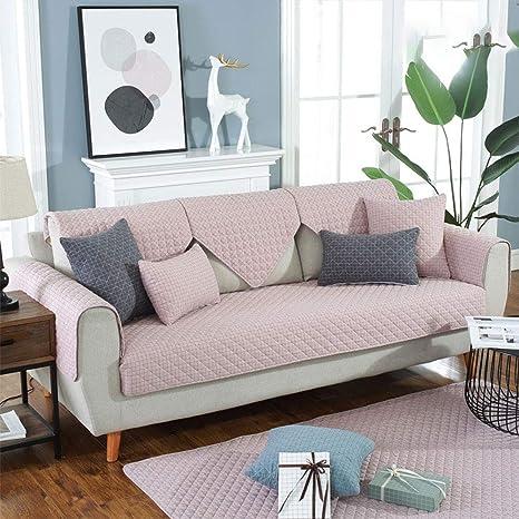 TOHHOT Funda de cojín para sofá, Universal, teñida con Hilo ...