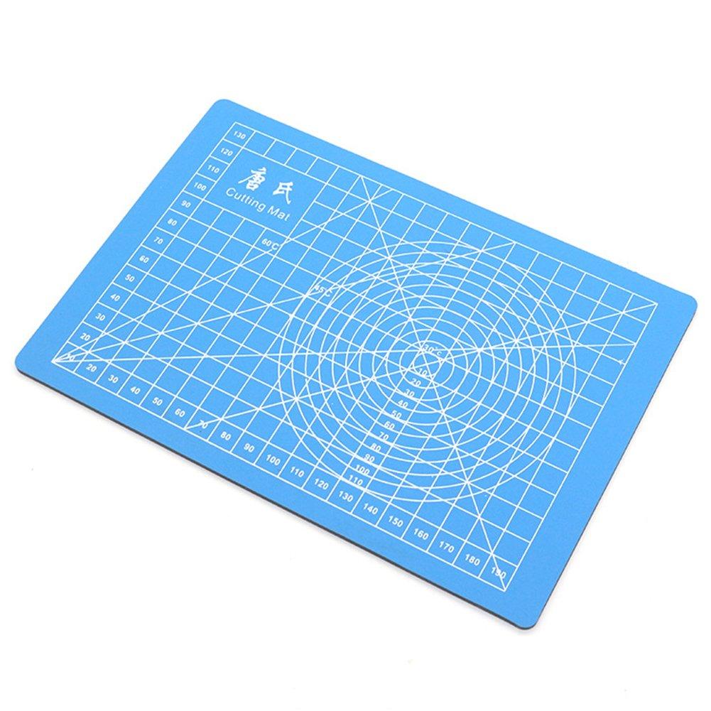 Azul 21x15x1cm S merymall 1 x A5 PVC Alfombrilla de Corte Doble Cara Curaci/ón Tabla de Cortar Tela Cuero Manualidades DIY Cortar Pad Acolchado Accesorios