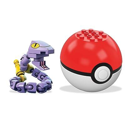 Mega Construx Pokemon Ekans Building Set: Toys & Games