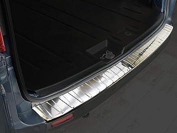 Avisa 2 35298 Ladekantenschutz Fahrzeugspezifische Passform Stoßstangenschutz Mit Abkantung Aus V2a Edelstahl Auto