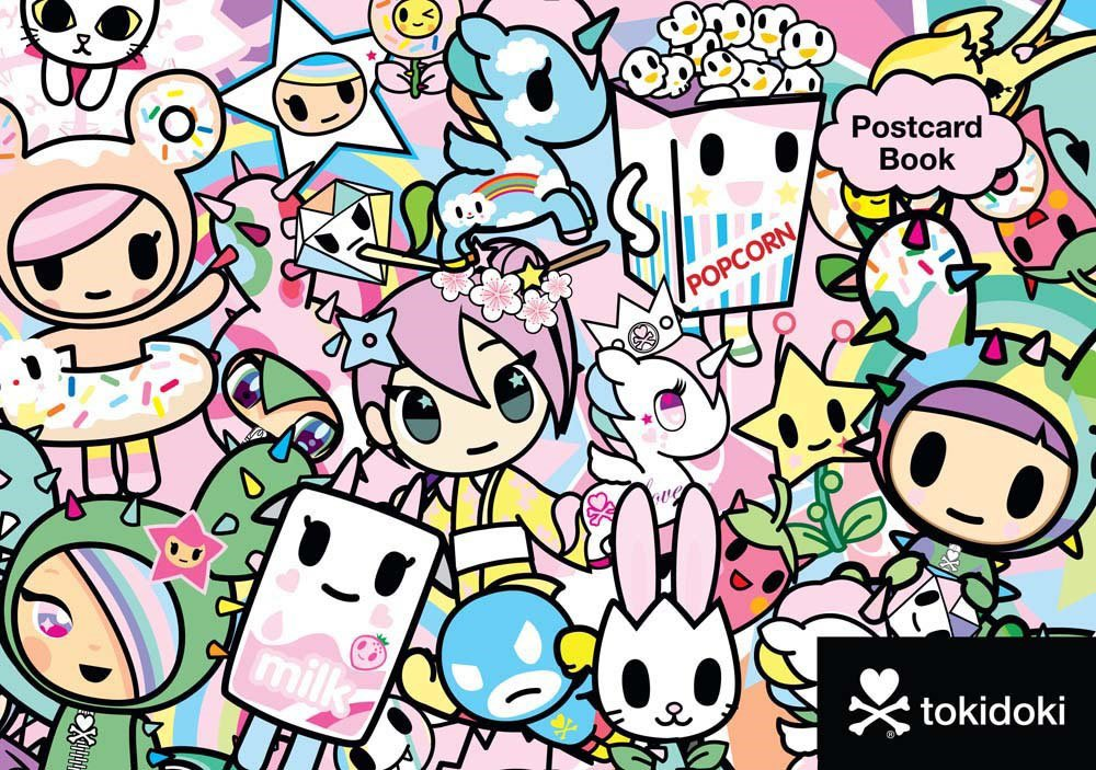 Amazon Com Tokidoki Postcard Book 0499992271879 Tokidoki Books
