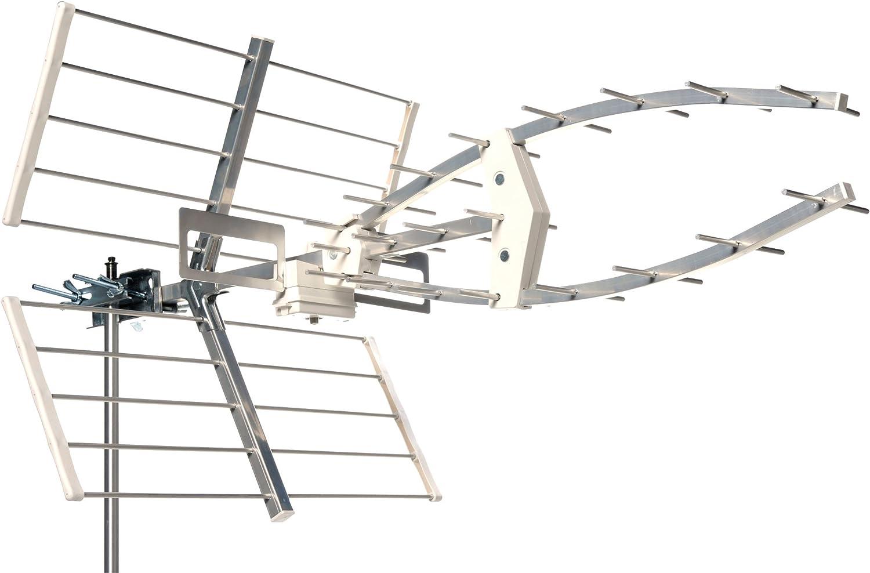 TechniSat 0000/6024 Technology iyagi T2 HD (DVB-T2, UHF de antena) Plata