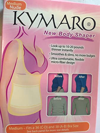 fff62186d6816 Image Unavailable. Image not available for. Color  Kymaro® New Body Shaper  ...