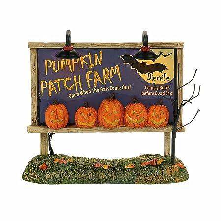 Department 56 Lit Pumpkin Patch Billboard