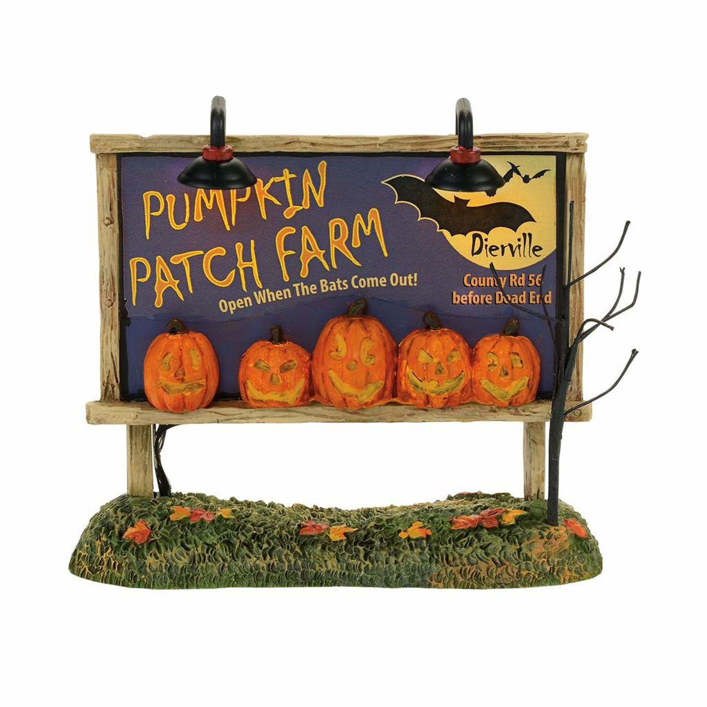 Department 56 Lit Pumpkin Patch Billboard