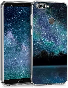 kwmobile Funda Compatible con Huawei Enjoy 7S / P Smart (2017): Amazon.es: Electrónica