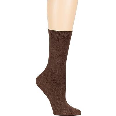 Women/'s Cotton 4 Pack Solid Casual Thin Dress Crew Socks Medium 9-11 Light Beige