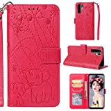 Yobby Wallet Case for Huawei P30 Pro,Embossing