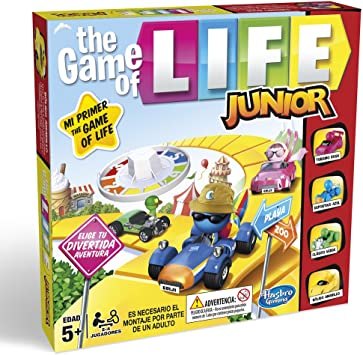 Hasbro Gaming - Clasico Game of Life Junior (B0654SC5): Amazon.es ...
