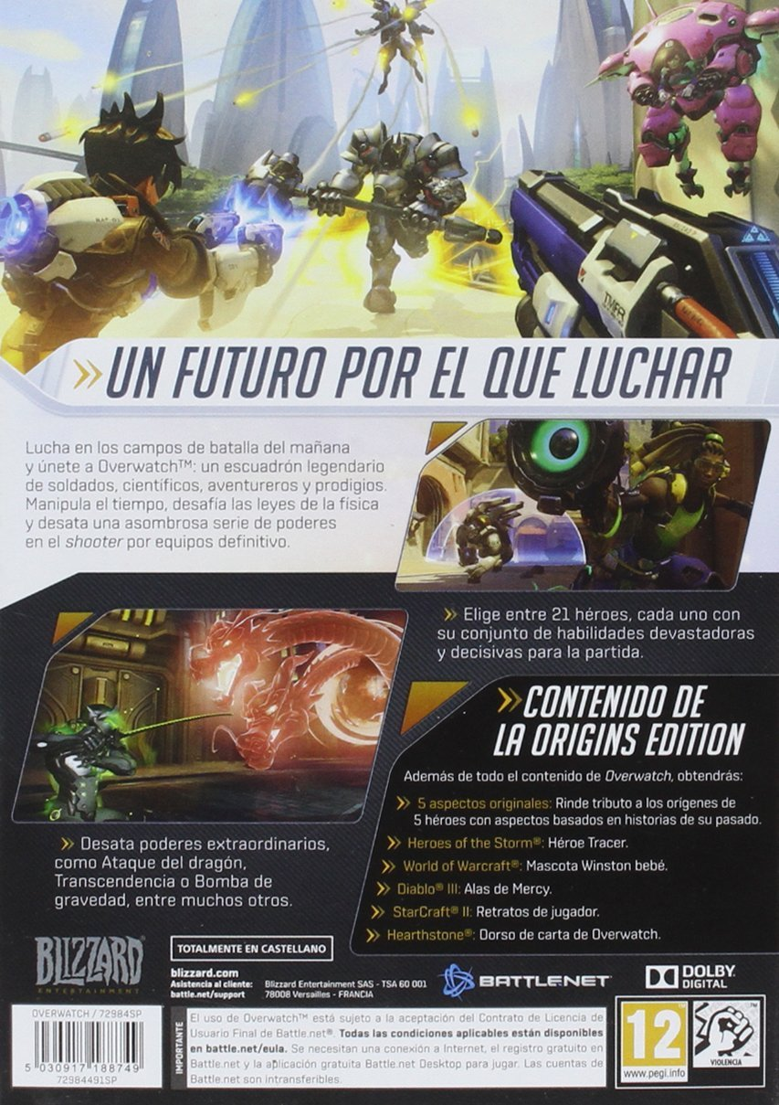 Overwatch Origins: PC: Amazon.es: Videojuegos