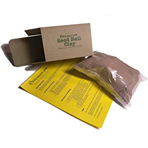 Red Clay Powder for Seed Balls and Seed Bombs (1000g)