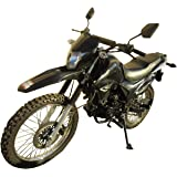 250cc Dirt Bike Hawk 250 Enduro Street Bike Motorcycle Bike ,Black
