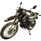 250cc Dirt Bike Hawk 250 Enduro Street Bike Motorcycle Bike ,Black