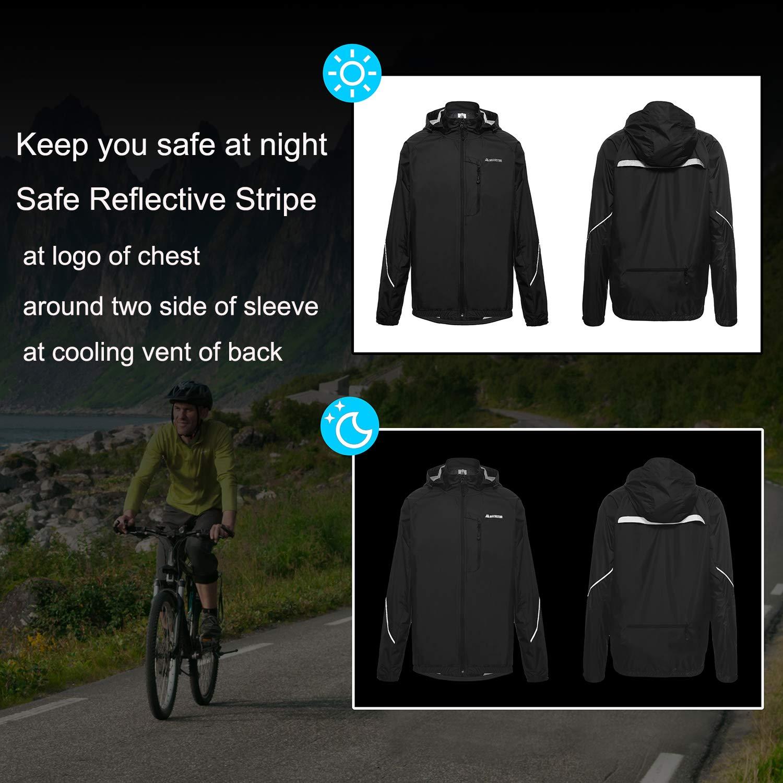 Amazon.com: MECASTAR Cycling Jackets Lightweight Running ...
