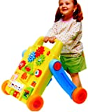 Baby's Activity Walker, Convertible to Rolling Activity Table,With Music & Light