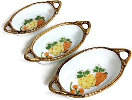 Dolls House Doll Dish Vegetable Plate #5aa87-25