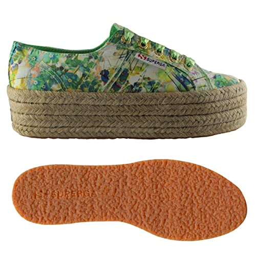 E Green Fabricfanplropew Superga Spring Scarpe Amazon Borse 2790 it wR0xq5Evx