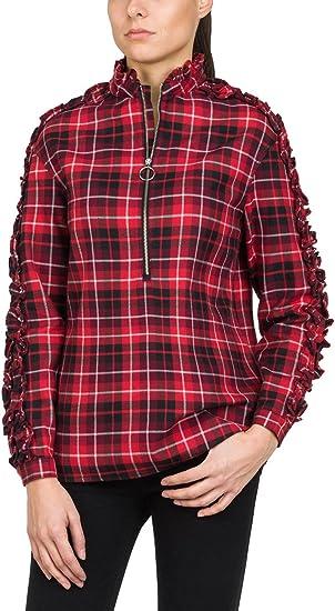 REPLAY Karo Hemd Blusa para Mujer