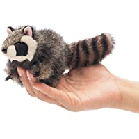 Folkmanis Mini Raccoon Finger Puppet