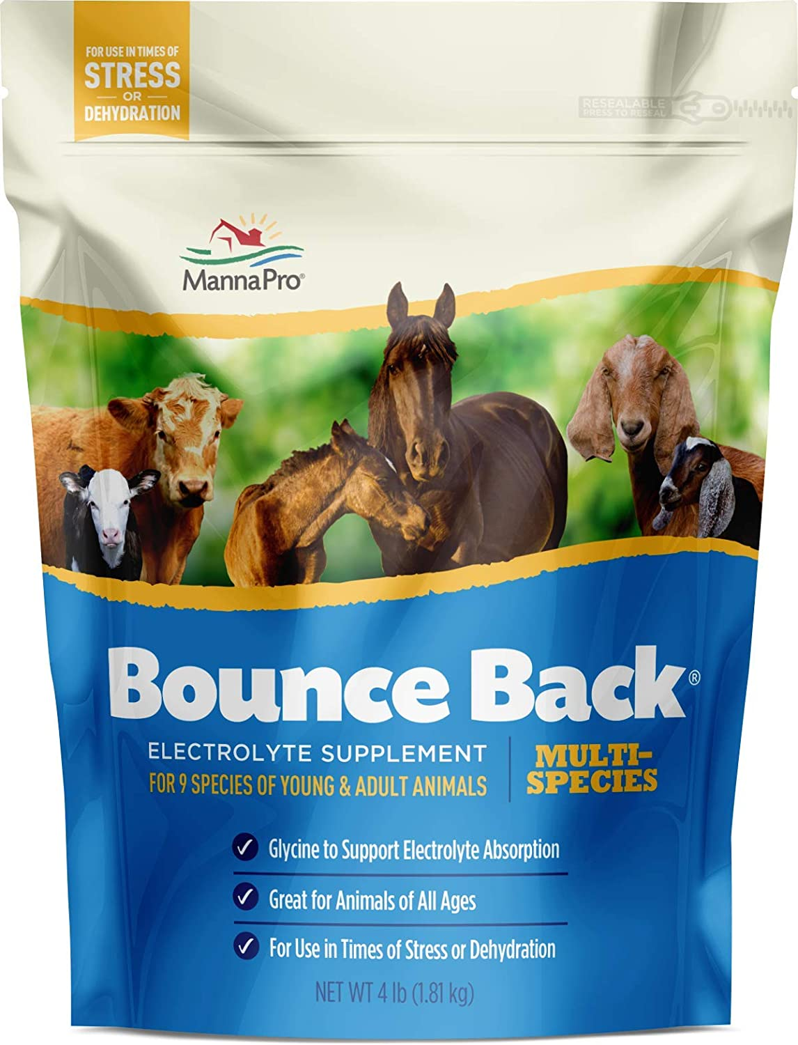Manna Pro Bounce Back Multi-Species Electrolyte Supplement