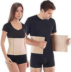 Faja Reductora Postparto con un inserto de algodón agradable para la piel X-Large Beige