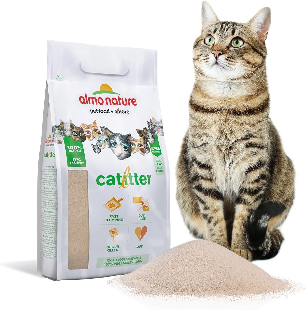 almo nature ALM76 Cat Litter Arena Aglomerante para Gatos, 2.27 kg ...