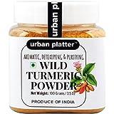 Urban Platter Wild Turmeric Powder, 100g [Curcuma Aromatica / Jangli Haldi / Kasthuri Manjal]