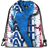 Ljxing Sea Turtles Cool Gym Drawstring Bags Travel Backpack Tote Rucksack