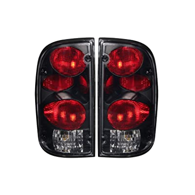 AnzoUSA 211180 Dark Smoke G2 Taillight for Toyota Tacoma - (Sold in Pairs): Automotive
