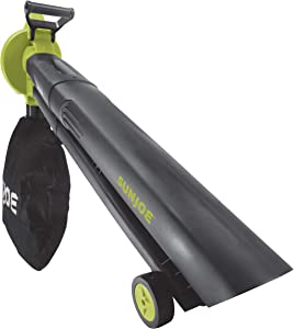 Sun Joe 24V-X2-BVM143-CT Cordless Blower Vacuum Mulcher, Tool Only