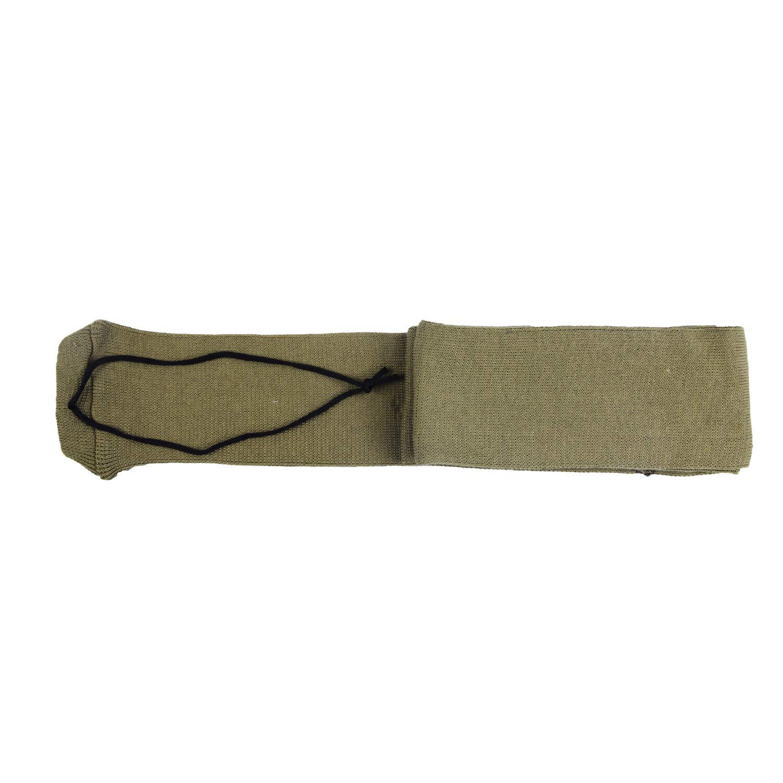 GUGULUZA Silicone Treated Knit Gun Socks 52'' for Rifles Shotgun (Khaki - 1 Pack) by GUGULUZA