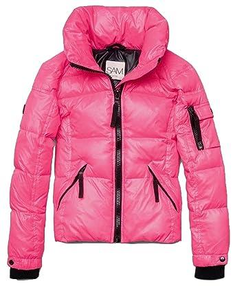 a2b8d44c2135 Amazon.com  SAM.. New York Girls Freestyle Down Puffer Pink Flamingo ...