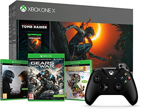 Xbox One X-Consola 1TB+Shadow Of The Tomb Raider + Microsoft ...