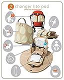 PacaPod Hastings Sand Stripe Lite Designer Baby