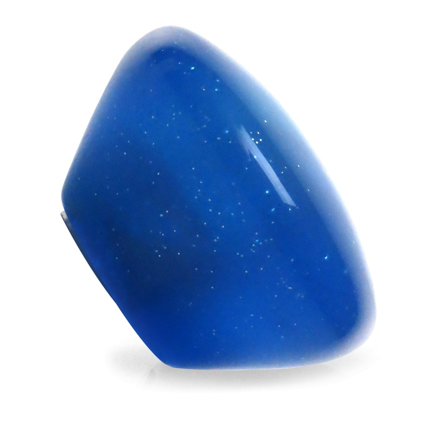 American Shifter 15676 Retro Series Blue Suicide Brody Knob Translucent with Metal Flake