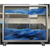 "YayaCat Dynamic Sand Picture Medium (8.66"" X 6.9"", Blue)"