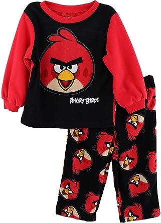 ANGRY BIRDS Video Game movie APP Red Boys YOUTH FLEECE Lounge PAJAMA sleep Pants