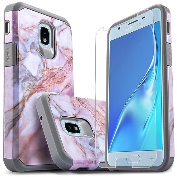 detailed look b3f75 2ece7 Samsung J7 Crown Case, Galaxy J7 Star, Galaxy J7 Refine, Galaxy J7 2018,  Galaxy J7 V 2nd Gen Case, With [Premium Screen Protector ], Starshop Shock  ...